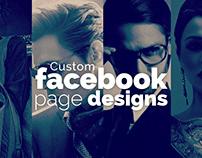 Custom Facebook Page Designs 2010 - 2014