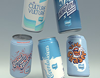 Lettering for Canberra in a Can Campaign