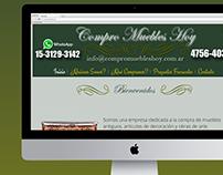 Compro Muebles Hoy |Diseño Web HTML / CSS