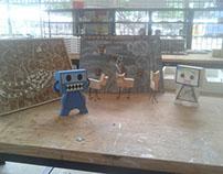 Brinquedo Robo
