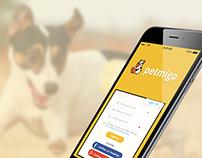 Petmigo Mobile App, UI, UX