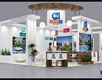 Travel Turkey Exhibition- Sunis Hotels Stand Design