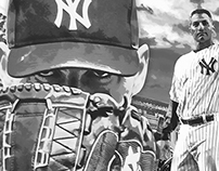Andy Pettitte Digital Painted Commemorative Photo