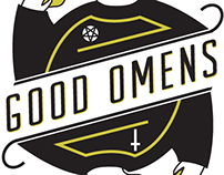 Good Omens Book Cover Redesign