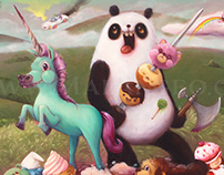 Unicorn & Panda against the World!