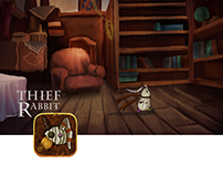 Ipad adventure game: Thief Rabbit