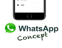 Settings Page UI - WhatsApp