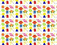 Diwali Gift Wrap Pattern