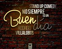 Diseño Gráfico   Stand Up Comedy   Rodrigo Villalobos