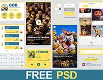 Freebie PSD / Minions Ui