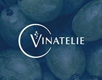 Vinatélie - Brand design