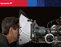 Bank of America campaign for Variety, the Wrap