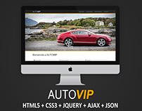 AUTOVIP Webpage