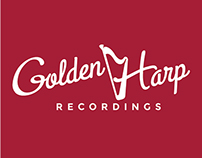 Golden Harp Recordings Logo