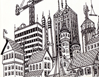 Cityscape Drawing 1