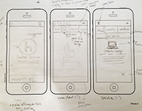 Personal Mobile Site UX Concept