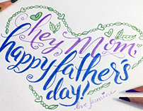 Happy Father's Day Card for Single Mom