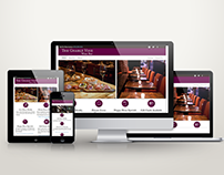 The Gnarly Vine Wine Bar: Web Redesign 2016