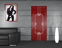 """Door design, """"Darla"""""""