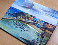 Tenby Canvas Painting