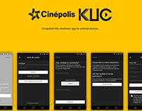 Cinépolis® Klic Wireframe