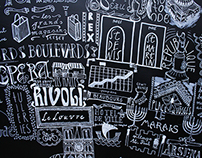 Paris in Typography // Table Project