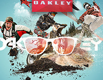 Oakley Concept Ad -from Sketch to Finish