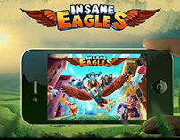 Insane Eagles - 3D Mobile Game