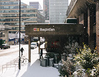 The Barbican - snow
