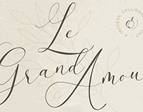 Le Grand Amour - Free Modern Calligraphy Font
