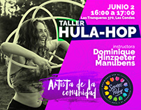 Taller HulaHop - Somos Polen