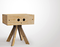 kross side table