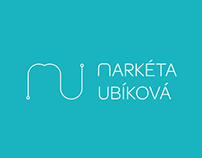 Markéta Ubíková - Personal Logo