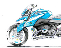 Motorcycle design Sketches