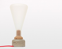 Juna Lamp Concrete & Cork