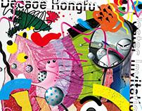 illustration: Kongfu ! -Poster Invitation Exhibition