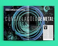 CONSTELAÇÕES DE METAL - Editorial Design