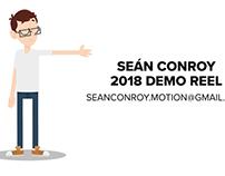 Seán Conroy - Demo Reel 2018
