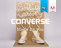 3D Printed Type + video - Converse Made by you