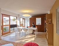 Apartment in Sceaux by h2o architectes