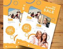 Fashion Sale Flyer Design