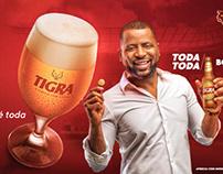 Tigra cerveja com Garra