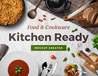 Kitchen Ready Mockup Creator