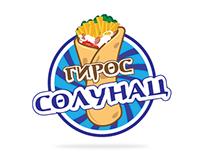 Gyros Solunac // Logo illustration