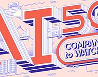 AI 50 COMPANIES TO WATCH
