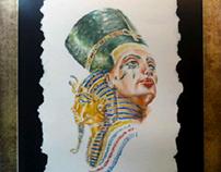 Egyptian Watercolor