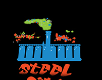 Tee Shirt Design for Steel City Putt Glow Golf