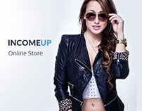 IncomeUp – eCommerce Fashion Store