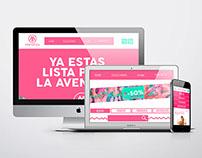 Mockup página web Manahos