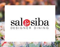 SalSiba Designer Dining Branding